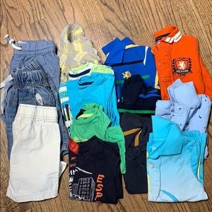 Lot of 14 boys clothes size 3-4